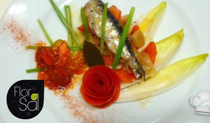 Receta Escabeche de Sardinas ligero con Aceite Flor de Sal