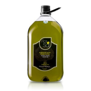 Aceite Flor de Sal Arbequina 5 L